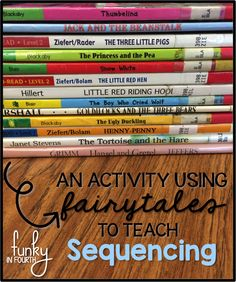 Funky in Fourth: Using Fairytales to Teach Sequencing Comprehension Strategies, Reading Strategies, Reading Skills, Teaching Reading, Reading Comprehension, Teaching Ideas, Guided Reading, Learning, Teaching Language Arts