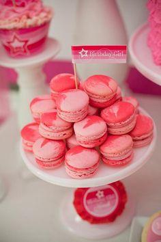 American Girl Doll Birthday Party via Kara's Party Ideas   Kara'sPartyIdeas.com #Pink #Doll #PartyIdeas #Supplies (38)