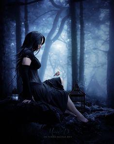 Zaria gothic and Fantasy - Gothique et Fantasy Foto Fantasy, Gothic Fantasy Art, Fantasy World, Dark Gothic Art, Dark Beauty, Gothic Beauty, Art Vampire, Ange Demon, Goth Art