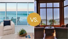 Room with a View: Malibu Bluff Beach House vs. Belvedere Isle Custom Home