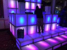 Led Lighted Dance Floor Full Sound Sensitive And Stage