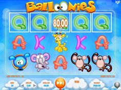 Balloonies is a cute online pokies from IGT featuring balloon like animals. Play now at our recommended Australian casino sites with the best bonuses Top Casino, Casino Sites, Las Vegas Slots, Igt Slots, Blowing Up Balloons, Vegas Style, Free Slots, Like Animals, Slot Machine