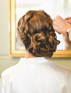 Swooning Over These Fabulous Wedding Hairstyles - Maria Vicencio Photography