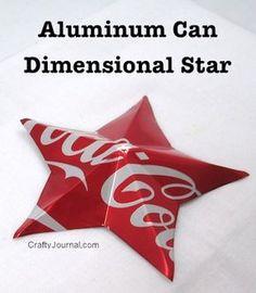 http://craftyjournal.com/wp-content/uploads/2014/06/aluminum-can-dimensional-star-024wb.jpg