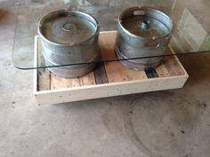 Rustic Keg Coffee Table by FabNation on Etsy