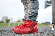 Gym Red Foamposites are on their way. http://thesolesupplier.co.uk/products/nike-air-foamposite-pro-gym-red/