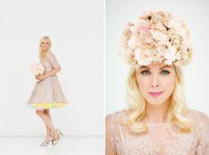 I loooooooooooove this look. Via Green Wedding Shoes. Photos by Apryl Ann Photography.