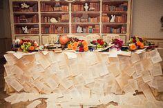 оформление стола молодоженов #wedding #decor #weddingideas