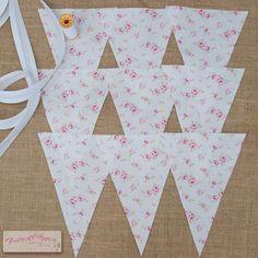 Tilda fabric - bunting set