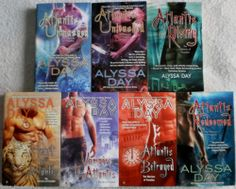 Alyssa Day Warriors of Poseidon Lot of 7. Includes: Heart of Atlantis, Vampire In Atlantis, Atlantis Unmasked, Atlantis Betrayed, Atlantis Redeemed, Atlantis Rising, Atlantis Unleashed. $11.99