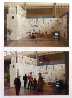 Sef Berkers. Exhibition 'Je suis à la gare 2'. NMBS-station Ostend, Belgium.