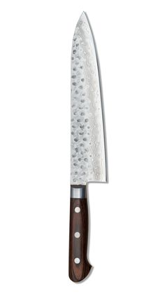 Hammered Damascus Gyuto Chef Knife 8' (210mm) – santoku nyc