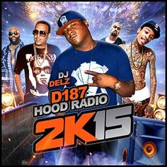 """DJ Delz is back with another edition in the """"D187 Hood Radio"""" mixtape series.  The """"2K15 Edition"""" plays you tracks by Lil Durk, Bigga Threat, Lil Reese, Dej Loaf, Trey Songz, Ty Dolla $ign, A$AP Rocky, Miguel, and many more.  Head over to the site on your computer or mobile device for this free stream and download today!"""