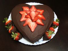 Strawberries and chocolate!!!