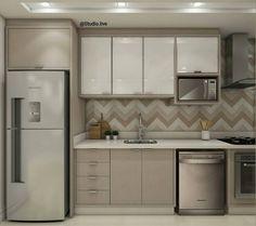 Cozinha planejada k nails fall river - Fall Nails Small Apartment Kitchen, Condo Kitchen, Modern Kitchen Cabinets, Home Decor Kitchen, Home Kitchens, Kitchen Remodel, Kitchen Backsplash, Kitchen Room Design, Kitchen Layout