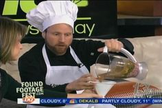 Fake Chef Tricks Local News Anchors Into Eating Disgusting Things