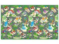 Tapete Infantil Cidade - Dican com as melhores condições você encontra no Magazine Luisacesar. Confira!