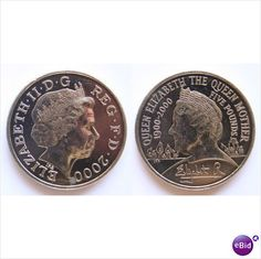 Queen Elizabeth The Queen Mother £5 Coin 2000 Listing in the Threepence,United Kingdom,Coins,Coins & Banknotes Category on eBid United Kingdom