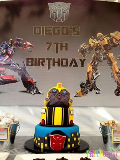 Transformers  Birthday Party Ideas   Photo 5 of 19