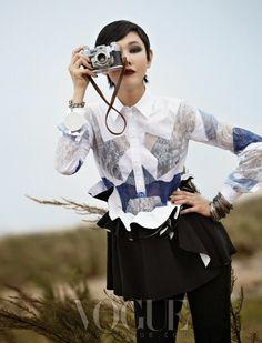 Han Hye-jin Vogue Korea September 2013