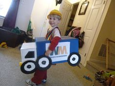 Another Wonderful Day: Gavin's Garbage Truck Costume