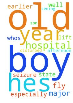 Prayer request for a 3 year old boy - Prayer request for a 3 year old boy whos just had a major seizure in the hospital. Hes had 3 earlier this afternoon. Hes not doing too well in the hospital. Can you please lift him up in prayer, especially the fly who are so disturbed, seeing their son in that state. Posted at: https://prayerrequest.com/t/EYQ #pray #prayer #request #prayerrequest