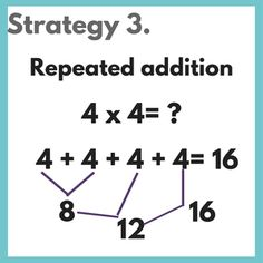 Are you ready to teach multiplication to your kids? Multiplication can be a little overwhelming for both teachers and students! So often the main focus … Read More › Math For Kids, Fun Math, Math Games, Math Strategies, Math Resources, Multiplication Strategies, Math Tips, Math Lessons, Simple Math