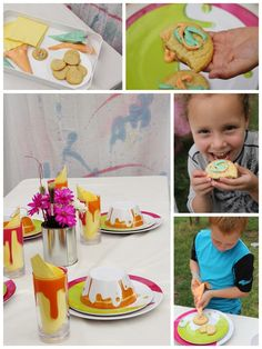 Messy Party Ideas and Recipes