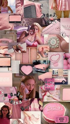 Wallpaper pink, mean girls girly - Pink Wallpaper Iphone, Retro Wallpaper, Aesthetic Pastel Wallpaper, Girl Wallpaper, Iphone Wallpaper Tumblr Aesthetic, Aesthetic Wallpapers, Angel Wallpaper, Whatsapp Pink, Photo Wall Collage