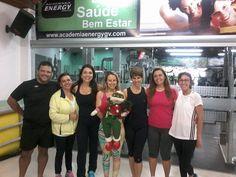 Turma de Pilates com a Professora Patrícia