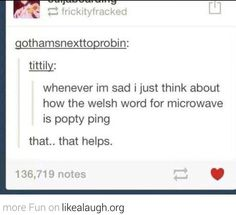 Never saying microwave again.