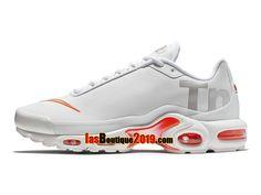 cheaper 1428b 5ec65 Nike Air Max Plus TN SE Big Logo Blanc AQ1088-100 Chaussures Nike Sneaker  Prix