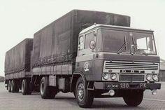 DAF FA 2600 met huifaanhanger van M.Mooy