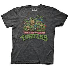 Teenage Mutant Ninja Turtles Shirts... I like the vintage look!