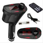 12V USB AUX Car Charger Wireless FM Transmitter Modulator LCD Audio MP3 Player