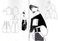 New fashion portfolio westminster 50 Ideas Fashion Portfolio Layout, Fashion Design Sketchbook, Fashion Illustration Sketches, Fashion Design Drawings, Fashion Sketches, Portfolio Design, Technical Illustration, Technical Drawings, Drawing Fashion