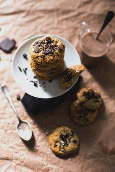 chocolate and ginger cookies