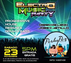 Electro Music Party @ Guatemala
