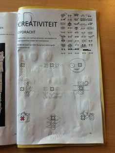creativiteit (mag je zelf bedenken hoe je het tekend)