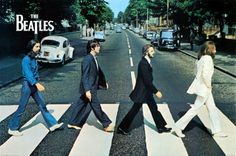 The Beatles recorded their final album together at London's Abbey Road Studios 35 years ago this week. Musician and music critic David Was examines the legacy of Abbey Road an album that marked the end of six remarkable years for The Beatles. Poster Dos Beatles, Foto Beatles, Die Beatles, 3d Poster, Beatles Photos, Ringo Starr, John Lennon, George Harrison, Rock Music