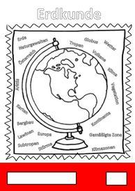 Deckblatt Erdkunde Unterrichtsmaterial Im Fach Fachubergreifendes Erdkunde Erdkunde Deckblatt Deckblatt