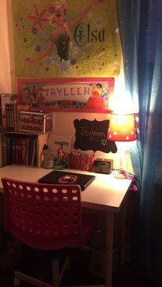 Girl Study desk