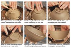 You should definitely learn how to do this. It doesn't have to be perfect, mine never were... and I prefer hand made pieces... but pottery is awesome!