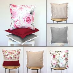 Pillow covers FLOWERS designed and made by Lally chic