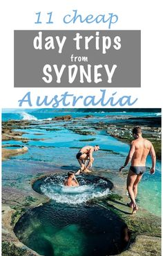 Cheap Sydney Day Trips on a budget. From wine tasting in the Hunter Valley to the rock pools of the Royal National Park, there's something for you. We list drive times, top things to do, and the best camping if you wish to linger. Sydney Australia, Australia Travel, Perth, Places To Travel, Places To See, Melbourne, Australian Road Trip, Visit Sydney, East Coast Road Trip