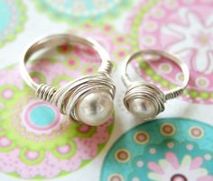 Mother and Daughter Sterling Silver Fresh Water by lilmisskaties, $40.00