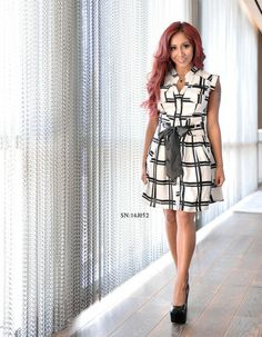 6250732215 The Snooki Shop - Snooki by Nicole Polizzi Women's Dress (SN:14J052) Snooki
