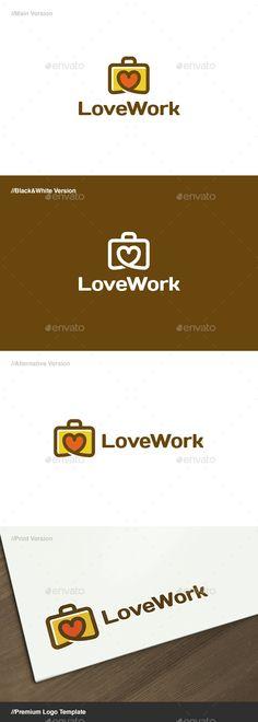 Love Work Logo - Objects Logo Templates