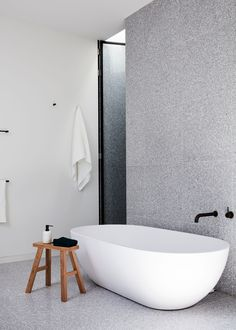 Armadale House by Inglis Architects - Natural Light Architecture & Design - The Local Project Bathroom Design Inspiration, Modern Bathroom Design, Bathroom Interior Design, Modern House Design, Decor Interior Design, Contemporary Bathrooms, Bathroom Designs, Minimalist Bathroom, Modern Minimalist