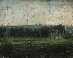 James Ensor - Forest Edge-1877
